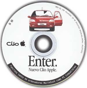 Lanzamientos curiosos de Apple (II): Renault Clio Apple
