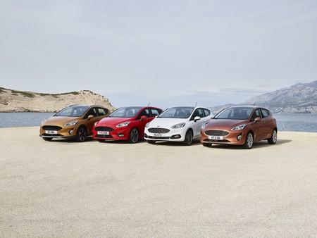 Ford Fiesta 2017 cuatro versiones