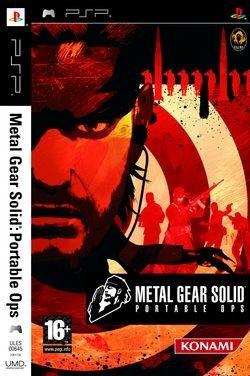 Publicada la carátula de 'Metal Gear Solid: Portable Ops'