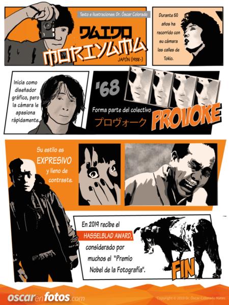 Oscarenfotos Moriyama Comic
