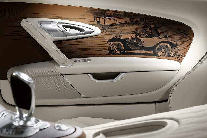 "Foto de Bugatti Veyron ""Black Bess"" Legends Edition (10/17)"