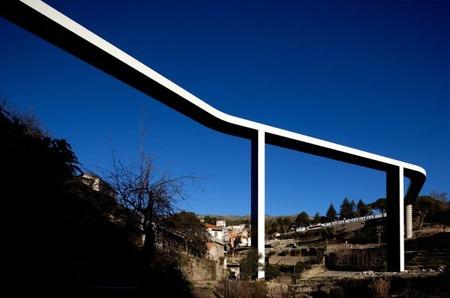 El puente sobre el río Carpinteira