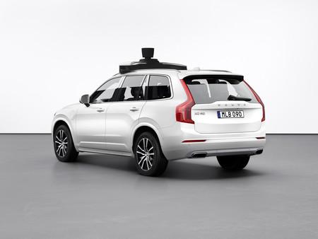 Volvo XC90 Uber autónomo