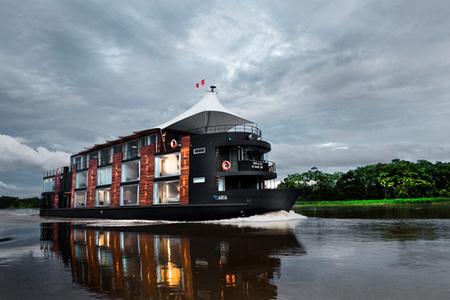 Un hotel flotante para recorrer el Amazonas