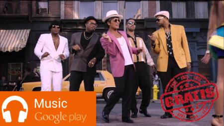 Descarga gratis Uptown Funk en Google Play Music