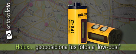 Holux M-241, geoposiciona tus fotos 'low-cost'