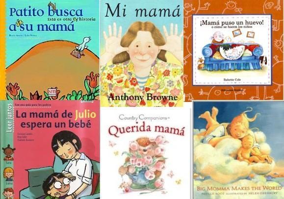 Mamá protagonista de cuentos