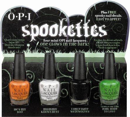 Spookettes y Pair'em Scare'em, los esmaltes de uñas de OPI para Halloween