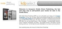 Kindle Direct Publishing: Amazon abre sus puertas a cualquier persona que quiera publicar un libro