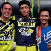 Ferran Sastre y Gerard Bailo han sido los primeros flat-trackers españoles en el rancho de Valentino Rossi