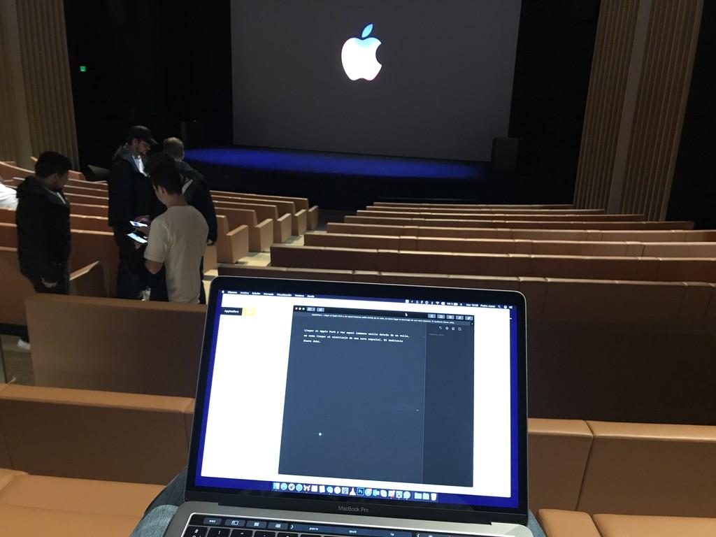 Mi Keynote En El Apple™ Park Applesfera Pedroaznar 22