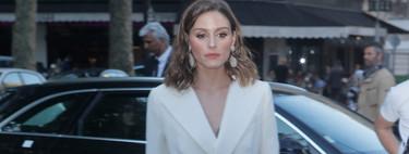 Olivia Palermo nos da las claves de estilo para combinar un pantalón blanco (sin importar la época del año)