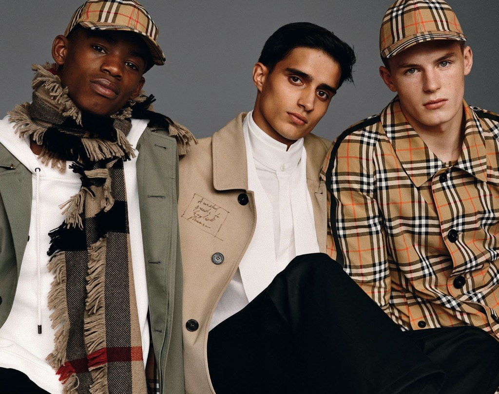 Burberry Fall Winter 2017 September Collection Campaign 1