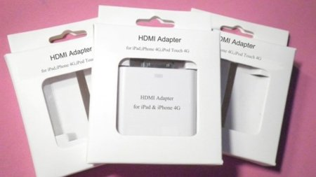 iPhone 4 adaptador HDMI adapter