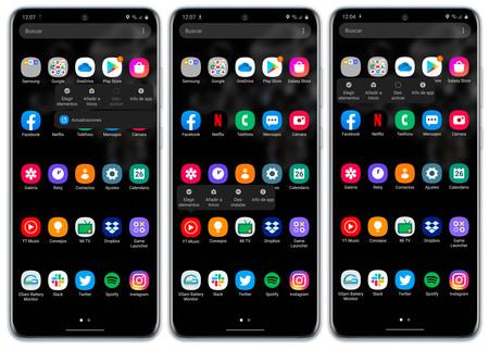 Samsung Galaxy S20 Ultra Software Apps Desinstalar