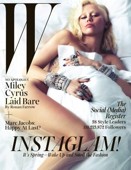 Miley en W Magazine