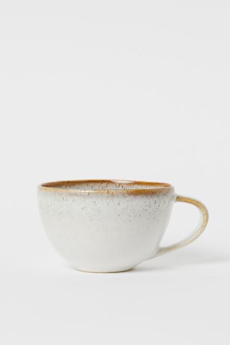 Taza grande de cerámica