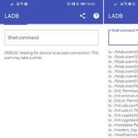 LADB es una app para usar ADB localmente, sin tener que conectarlo a otro dispositivo
