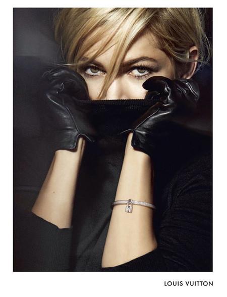 Michelle Williams vuelve a prestar su imagen para Lockit, la nueva campaña de joyas de Louis Vuitton