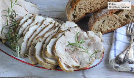 Pata asada canaria, receta adaptada al horno de casa