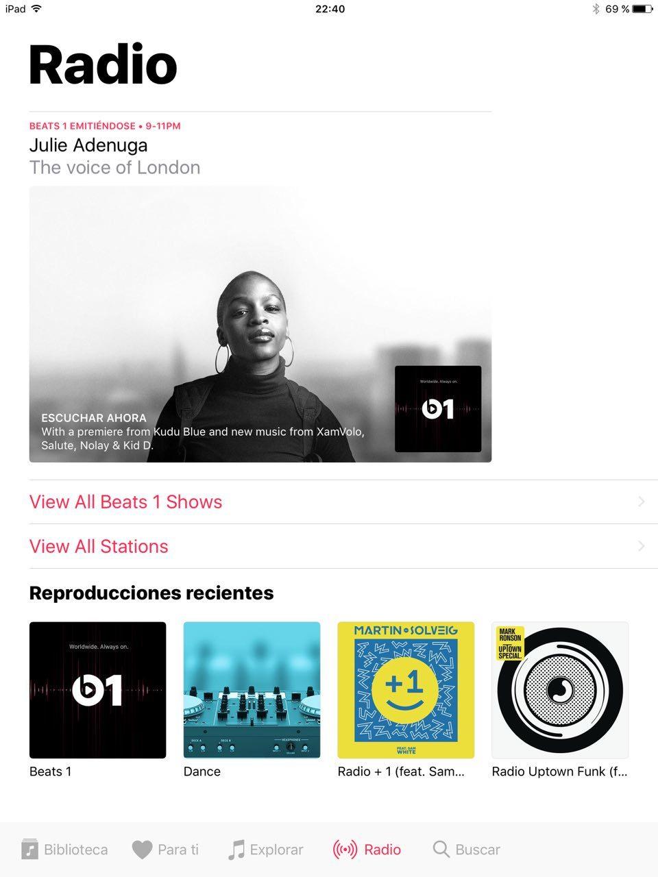 Foto de iOS 10 en iPad (18/26)