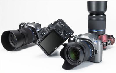 Posibles características de la Samsung NX10