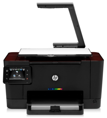 HP TopShot LaserJet escanea objetos reales
