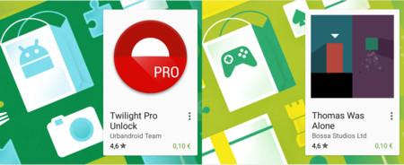 Oferta de la semana en Google Play: Twilight Pro y Thomas Was Alone a 0,10 €