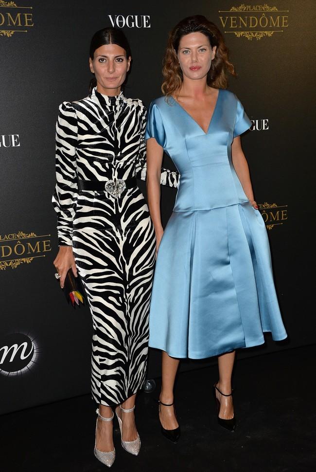 fiesta vogue paris fashion week Giovanna Battaglia Sara Battaglia