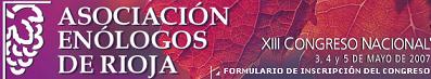 XIII Congreso Nacional de Enólogos en Logroño