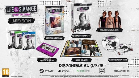 Life Is Strange Before The Storm Edicion Limitada
