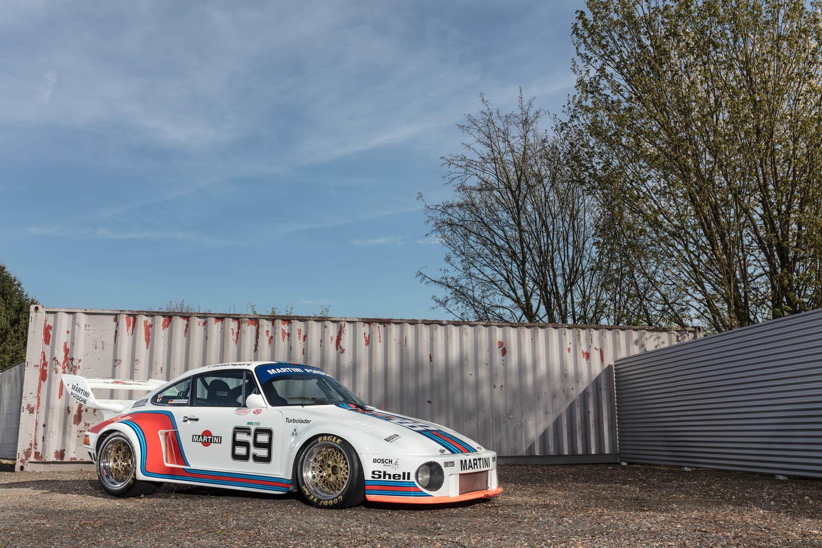 Foto de Porsche 930 clásico a subasta (37/42)