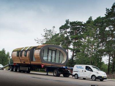 Nissan presenta la nueva e-NV200, con hasta 280 kilómetros de autonomía y la casa a cuestas