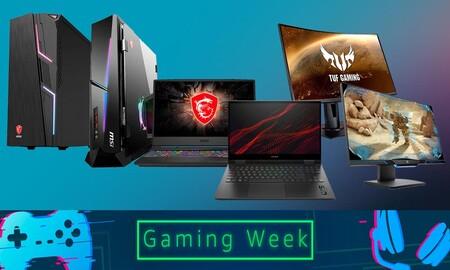 Gaming Week en Amazon: 23 portátiles, sobremesa y monitores de HP, ASUS, MSI o Samsung a los mejores precios