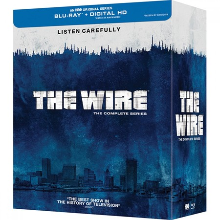 The Wire The Complete Series Blu Ray Digital Hd 1000