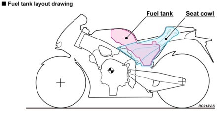 Honda Rc13v S Fuel Tank