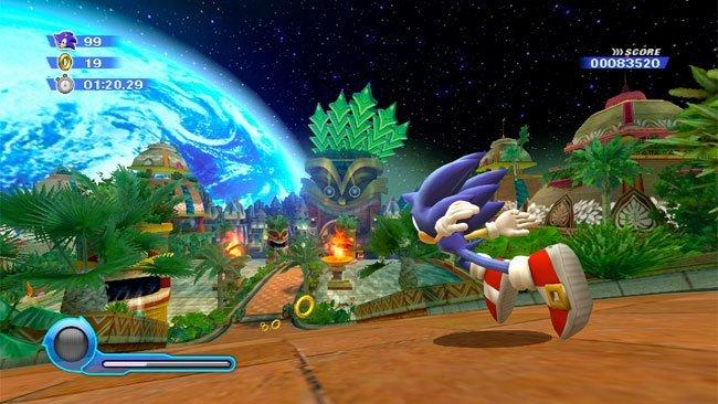 Sonic Colors' mostrado en imágenes de juego real [E3 2010]