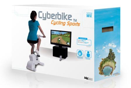 Cyberbike: la bicicleta estática llega a la wii