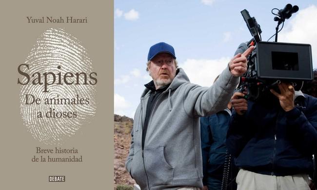 Ridley Scott will produce the film Sapiens