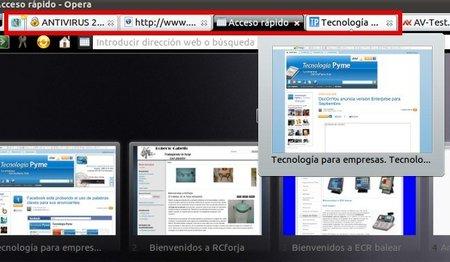 Múltiples pestañas en el navegador limitan nuestra productividad