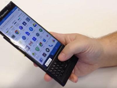 La última filtración de la BlackBerry Venice es un vídeo en el que aparece funcionando