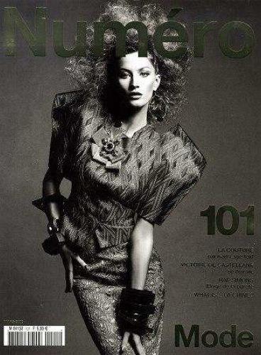 Foto de Gisele Bundchen en el editorial de marzo de Numéro 101 (8/8)