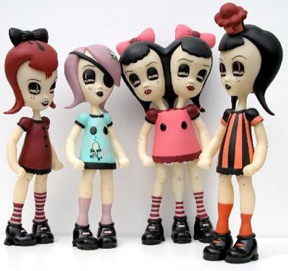 Las muñecas de Camille Rose Garcia