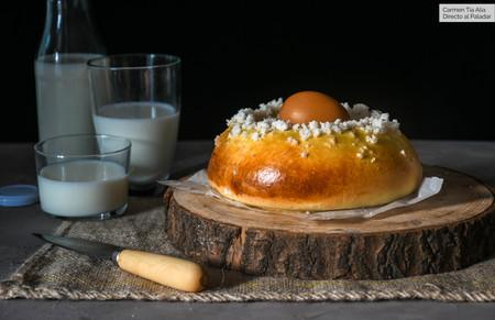 Mona de Pascua tradicional, receta de Semana Santa (que os traemos en vídeo)
