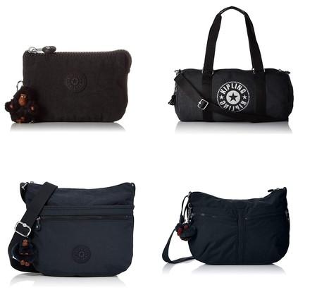 Hasta 30% de descuento en bolsos, mochilas, bandoleras o monederos Kipling en Amazon hasta medianoche