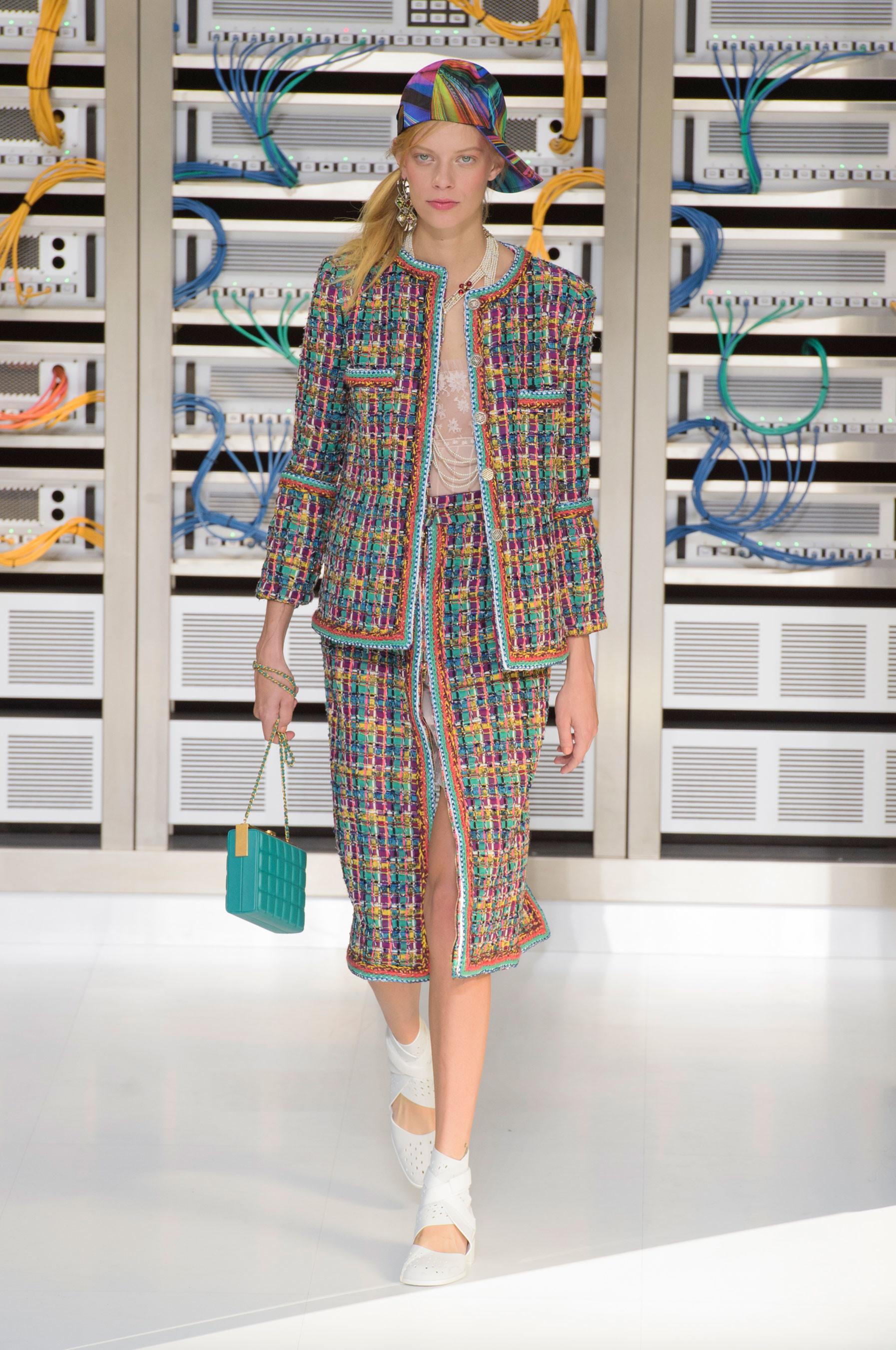 Foto de El regreso al futuro de Chanel en su colección Primavera-Verano 2017 (21/96)