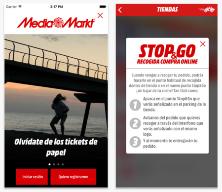 La app de Media Markt para iPhone