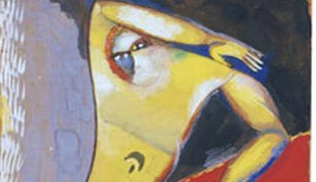 Desnudo de Chagall