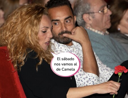 Rocío Carrasco y Fidel Albiac se van de farra: su noche más loca en el concierto de Vanesa Martín en Barcelona