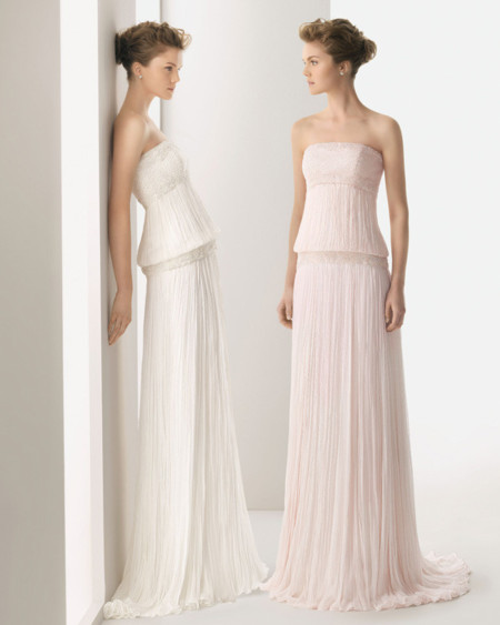 Rosa Clara rosa vestido novia